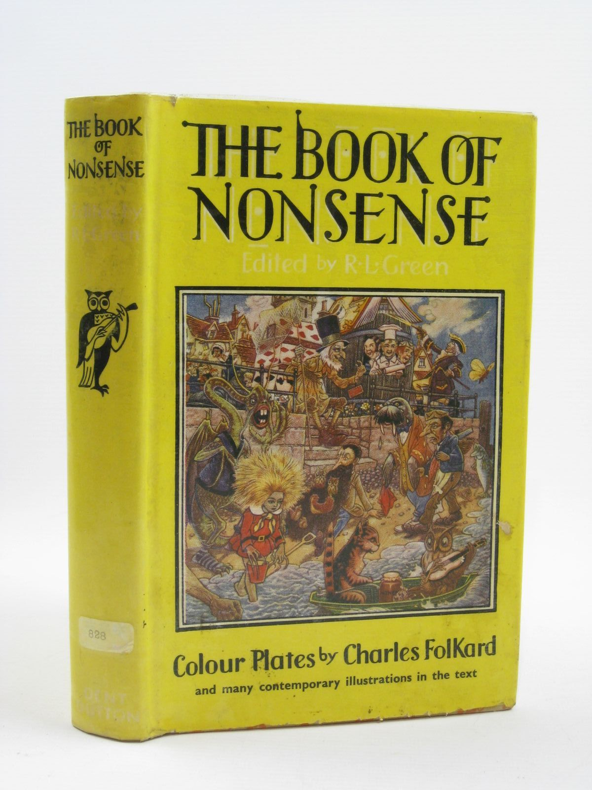 Photo of THE BOOK OF NONSENSE written by Green, Roger Lancelyn illustrated by Folkard, Charles published by J.M. Dent & Sons Ltd. (STOCK CODE: 1406623)  for sale by Stella & Rose's Books