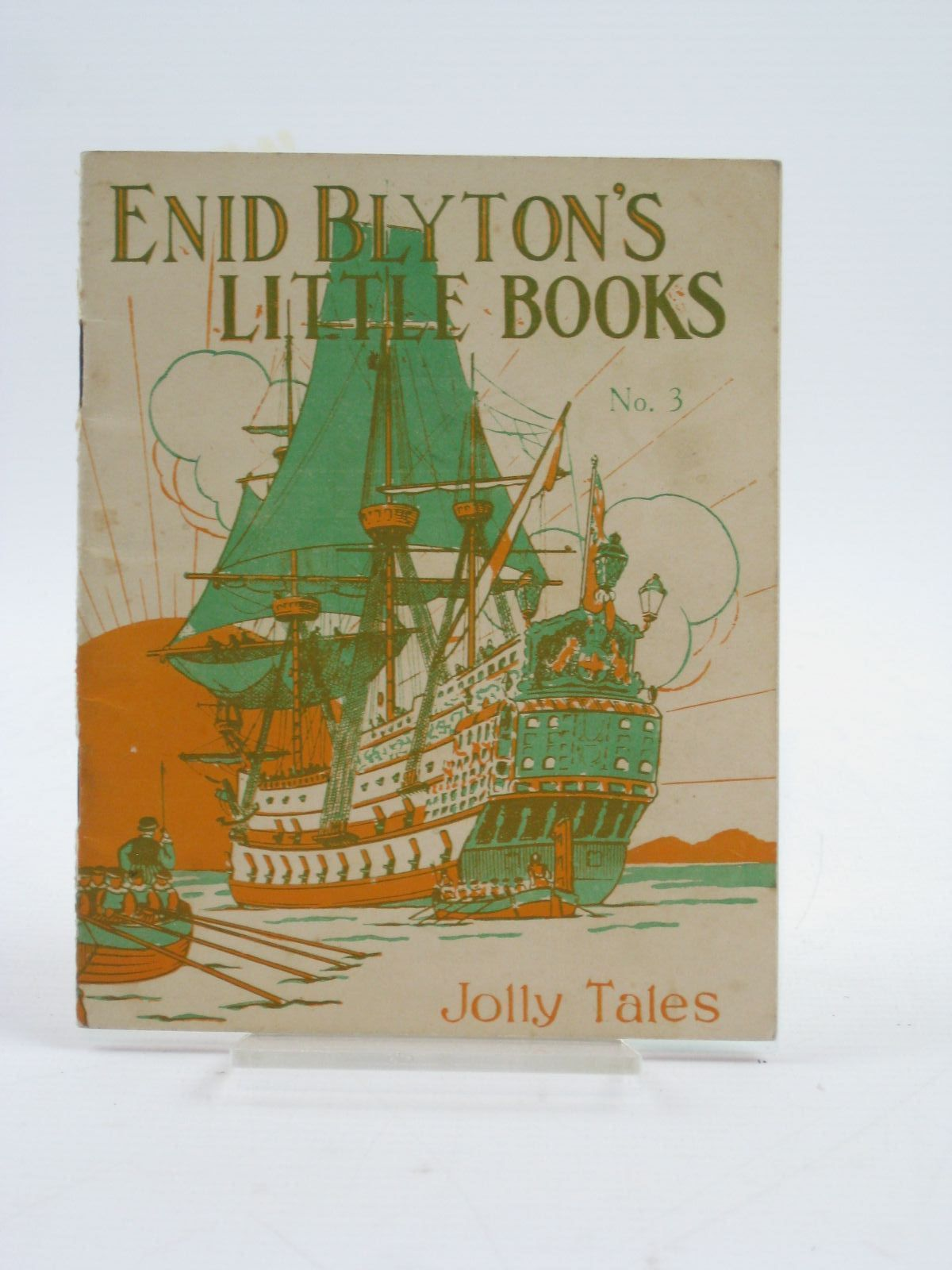 Photo of ENID BLYTON'S LITTLE BOOKS NO. 3 - JOLLY TALES written by Blyton, Enid illustrated by Kerr, Alfred E. published by Evans Brothers Limited (STOCK CODE: 1406628)  for sale by Stella & Rose's Books