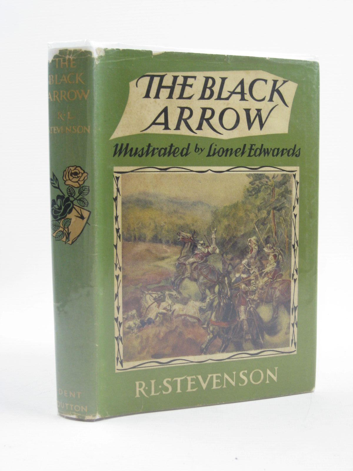 Photo of THE BLACK ARROW written by Stevenson, Robert Louis illustrated by Edwards, Lionel published by J.M. Dent & Sons Ltd. (STOCK CODE: 1406658)  for sale by Stella & Rose's Books