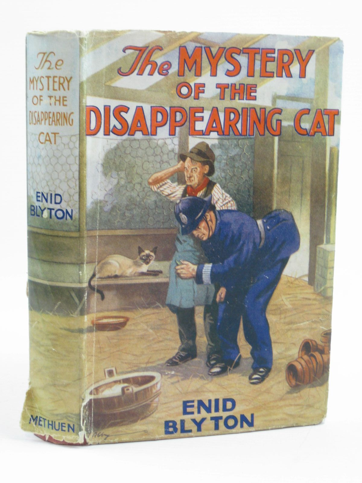 Photo of THE MYSTERY OF THE DISAPPEARING CAT written by Blyton, Enid illustrated by Abbey, J. published by Methuen & Co. Ltd. (STOCK CODE: 1406758)  for sale by Stella & Rose's Books