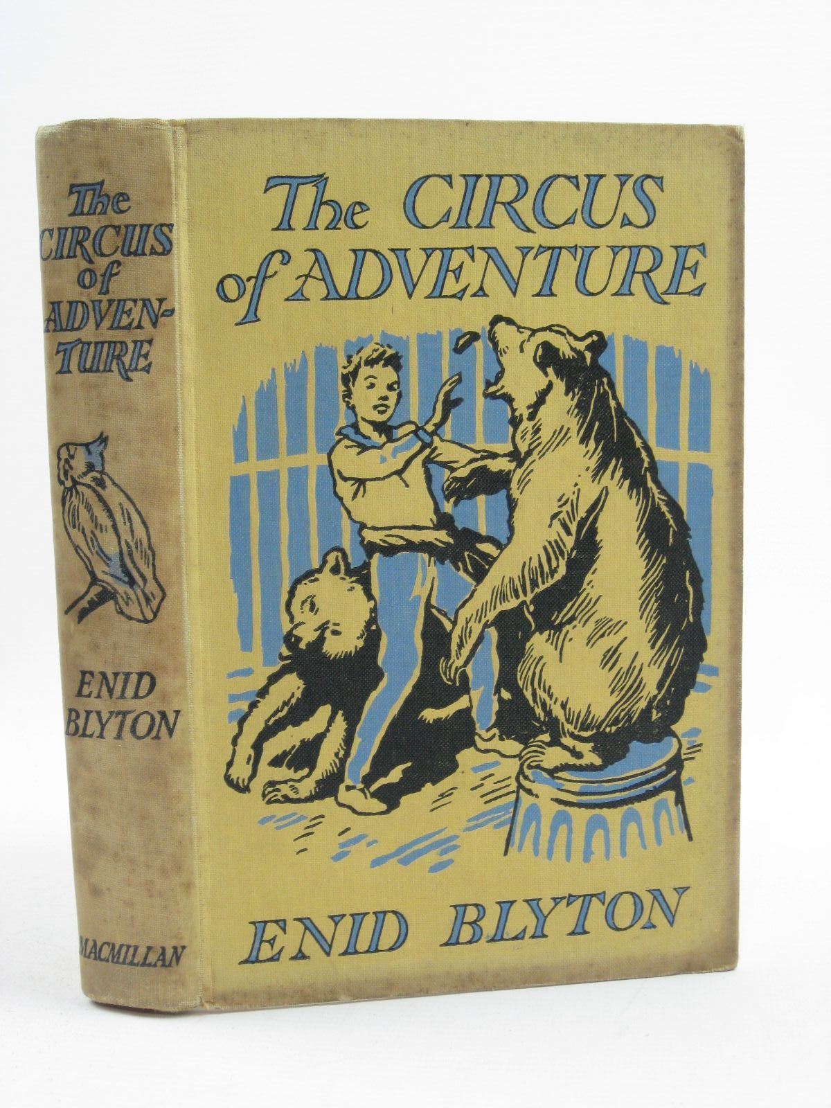 Photo of THE CIRCUS OF ADVENTURE written by Blyton, Enid illustrated by Tresilian, Stuart published by Macmillan & Co. Ltd. (STOCK CODE: 1406787)  for sale by Stella & Rose's Books