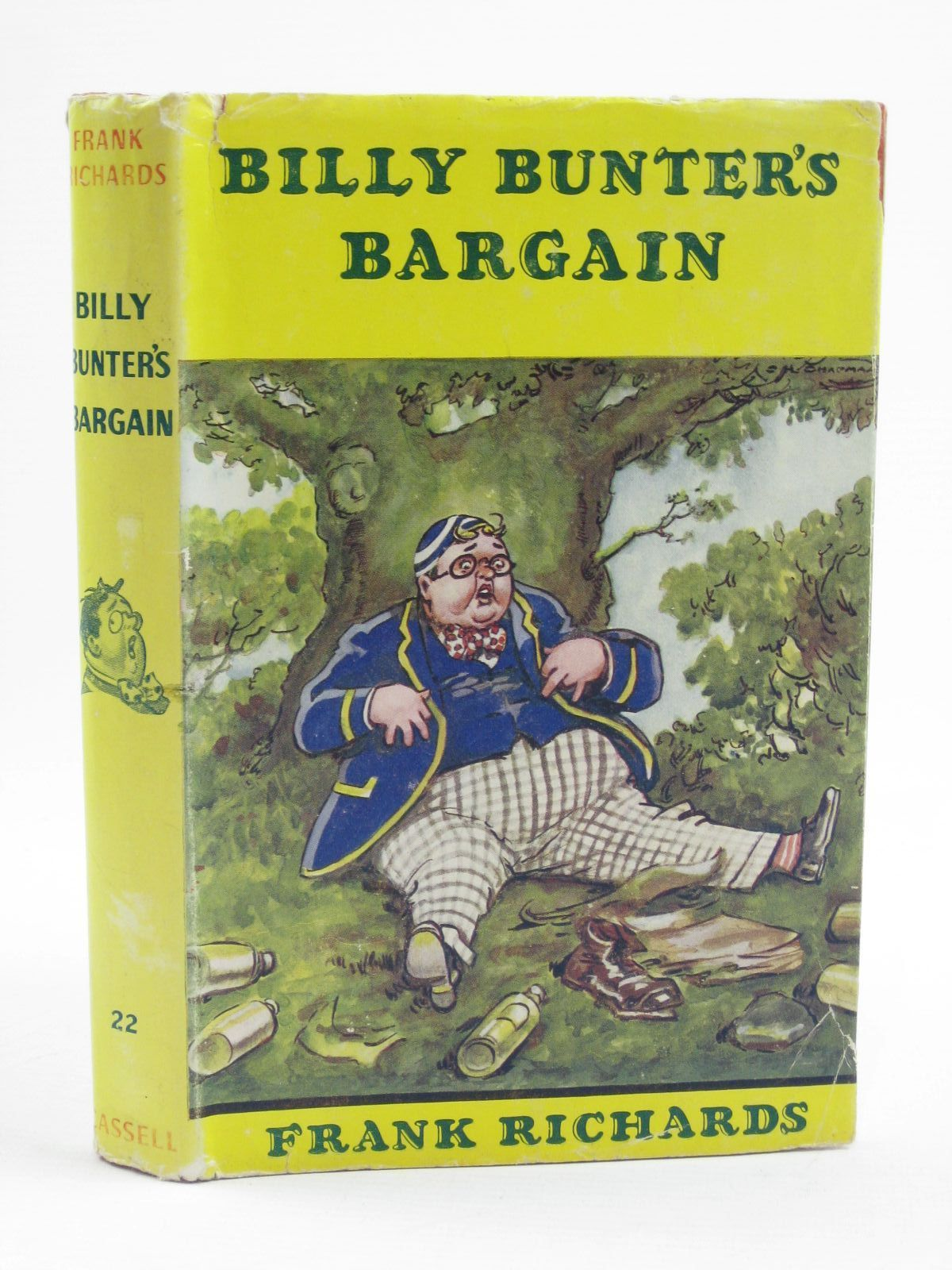 Photo of BILLY BUNTER'S BARGAIN written by Richards, Frank illustrated by Chapman, C.H. published by Cassell & Co. Ltd. (STOCK CODE: 1406892)  for sale by Stella & Rose's Books