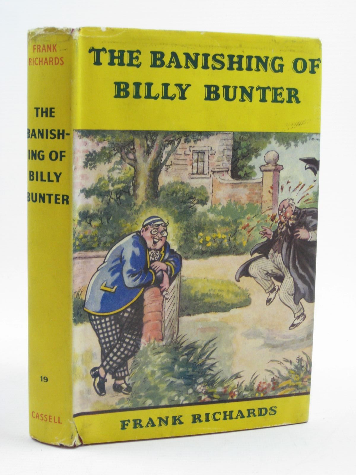 Photo of THE BANISHING OF BILLY BUNTER written by Richards, Frank illustrated by Chapman, C.H. published by Cassell & Company Ltd (STOCK CODE: 1406907)  for sale by Stella & Rose's Books