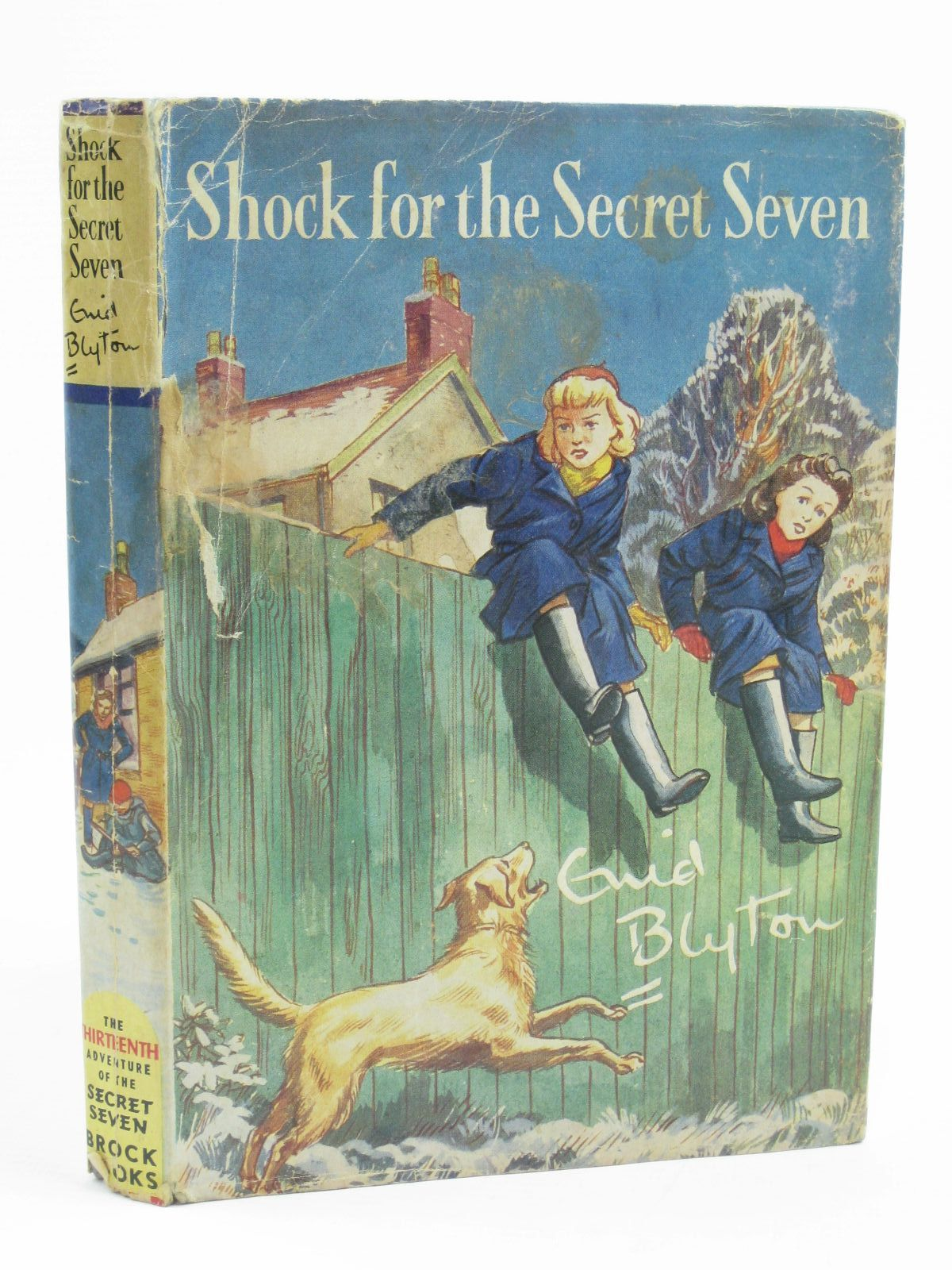 Photo of SHOCK FOR THE SECRET SEVEN written by Blyton, Enid illustrated by Sharrocks, Burgess published by Brockhampton Press (STOCK CODE: 1406956)  for sale by Stella & Rose's Books