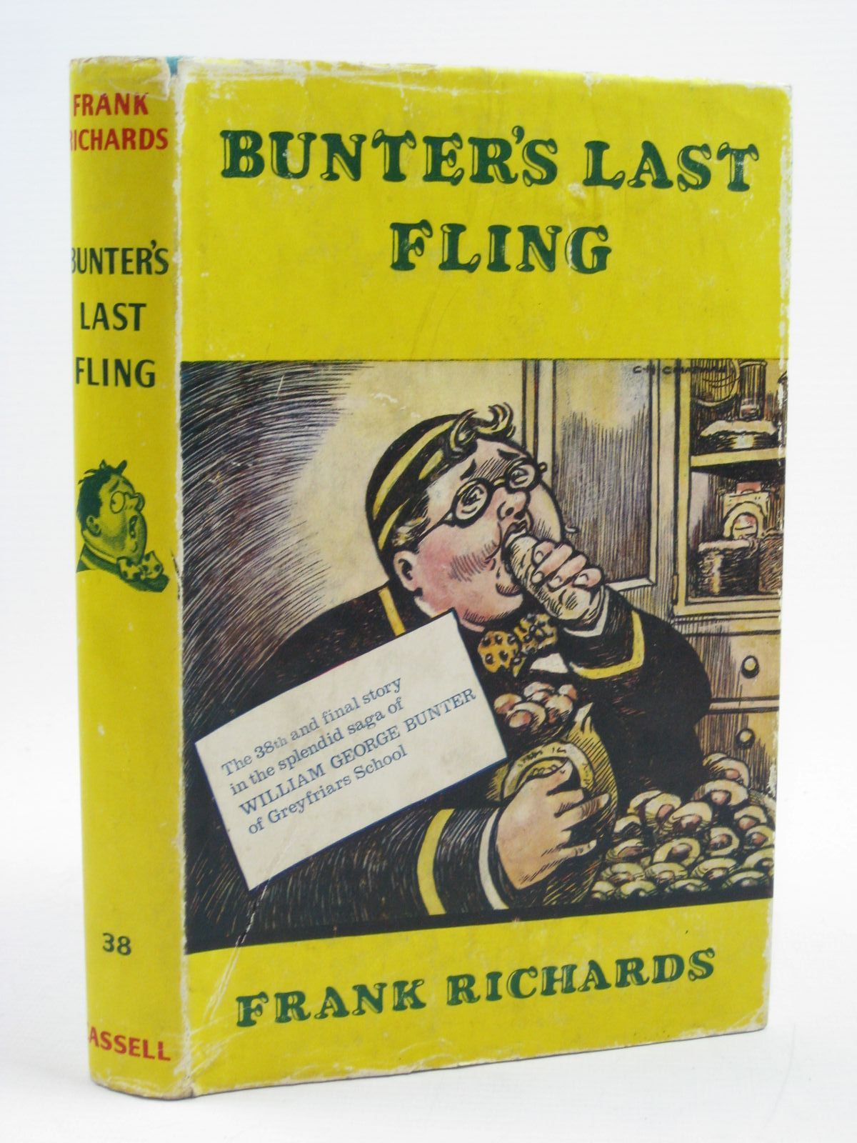 Photo of BUNTER'S LAST FLING written by Richards, Frank illustrated by Chapman, C.H. published by Cassell (STOCK CODE: 1406966)  for sale by Stella & Rose's Books