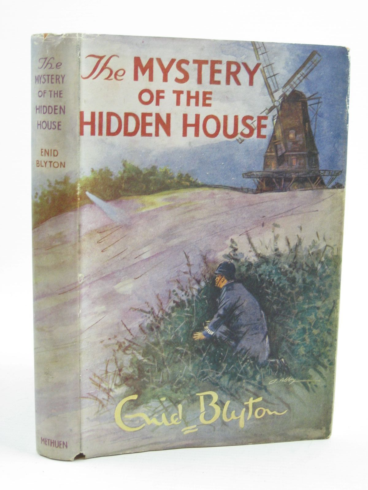Photo of THE MYSTERY OF THE HIDDEN HOUSE written by Blyton, Enid illustrated by Abbey, J. published by Methuen & Co. Ltd. (STOCK CODE: 1406993)  for sale by Stella & Rose's Books