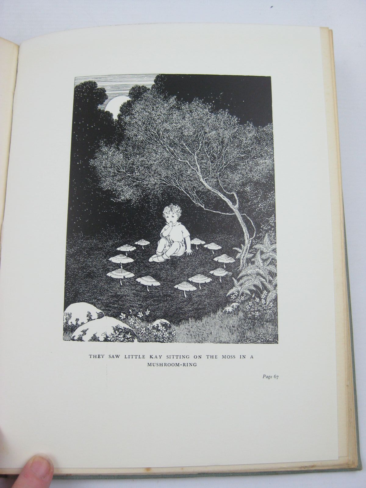 Photo of THE LITTLE GREEN ROAD TO FAIRYLAND written by Rentoul, Annie R. illustrated by Outhwaite, Ida Rentoul published by A. & C. Black Ltd. (STOCK CODE: 1407025)  for sale by Stella & Rose's Books