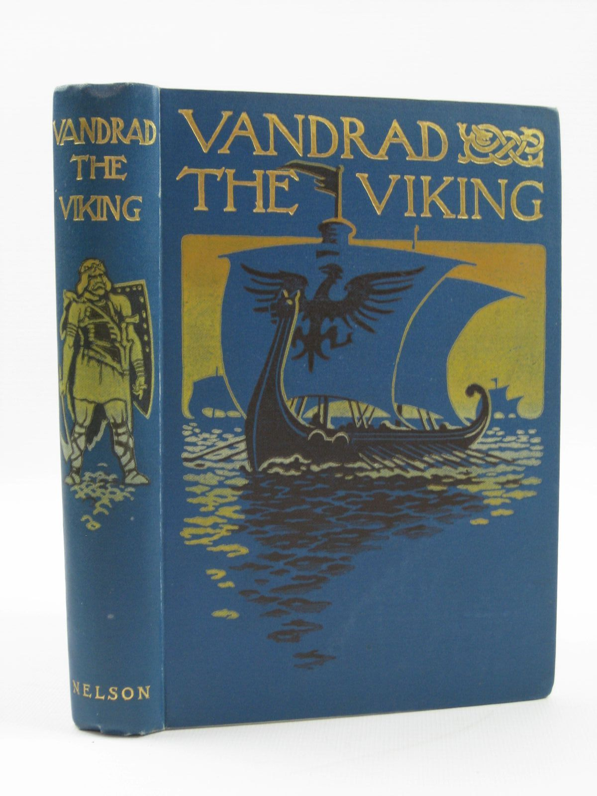 Photo of VANDRAD THE VIKING written by Clouston, J. Storer illustrated by Paton, Hubert published by Thomas Nelson & Sons (STOCK CODE: 1407050)  for sale by Stella & Rose's Books