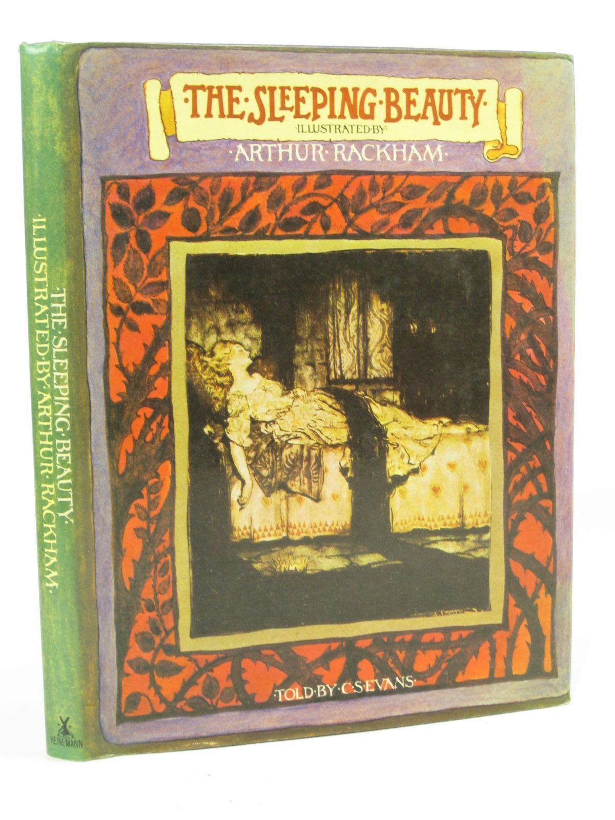 Photo of THE SLEEPING BEAUTY written by Evans, C.S. illustrated by Rackham, Arthur published by William Heinemann (STOCK CODE: 1407064)  for sale by Stella & Rose's Books