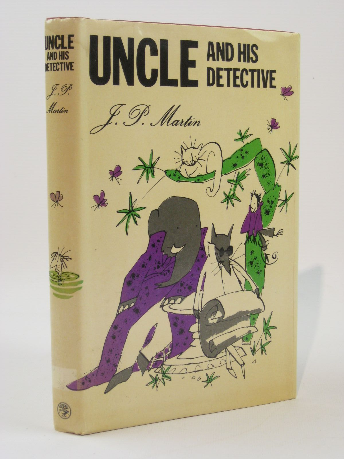 Photo of UNCLE AND HIS DETECTIVE written by Martin, J.P. illustrated by Blake, Quentin published by Jonathan Cape (STOCK CODE: 1407077)  for sale by Stella & Rose's Books