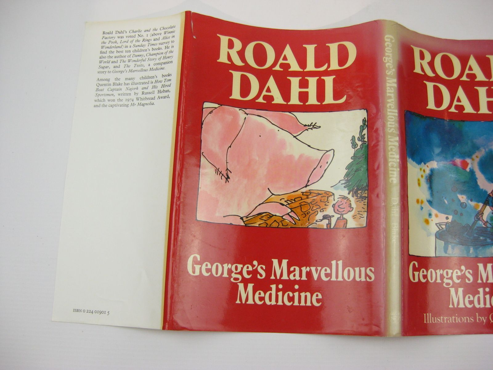 Photo of GEORGE'S MARVELLOUS MEDICINE written by Dahl, Roald illustrated by Blake, Quentin published by Jonathan Cape (STOCK CODE: 1407078)  for sale by Stella & Rose's Books