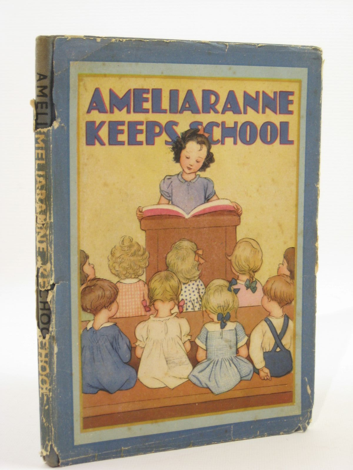 Photo of AMELIARANNE KEEPS SCHOOL written by Heward, Constance illustrated by Pearse, S.B. published by George G. Harrap & Co. Ltd. (STOCK CODE: 1407088)  for sale by Stella & Rose's Books