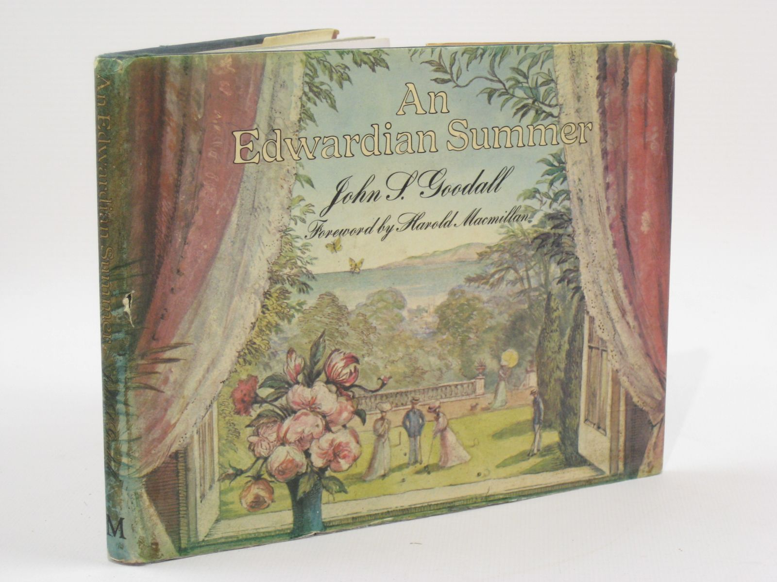 Photo of AN EDWARDIAN SUMMER written by Goodall, John S. illustrated by Goodall, John S. published by Macmillan London Limited (STOCK CODE: 1407098)  for sale by Stella & Rose's Books