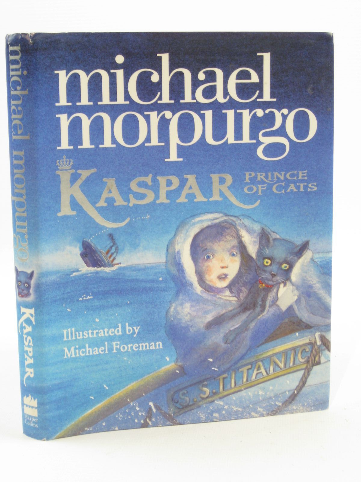 Photo of KASPAR PRINCE OF CATS written by Morpurgo, Michael illustrated by Foreman, Michael published by Harper Collins (STOCK CODE: 1407118)  for sale by Stella & Rose's Books