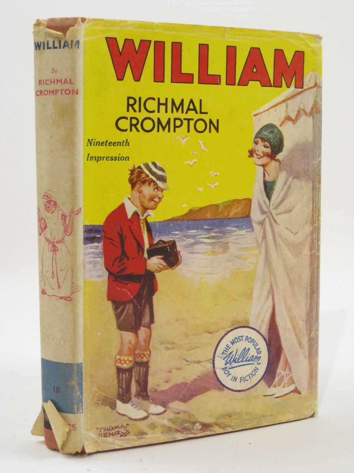 Photo of WILLIAM written by Crompton, Richmal illustrated by Henry, Thomas published by George Newnes Limited (STOCK CODE: 1407128)  for sale by Stella & Rose's Books