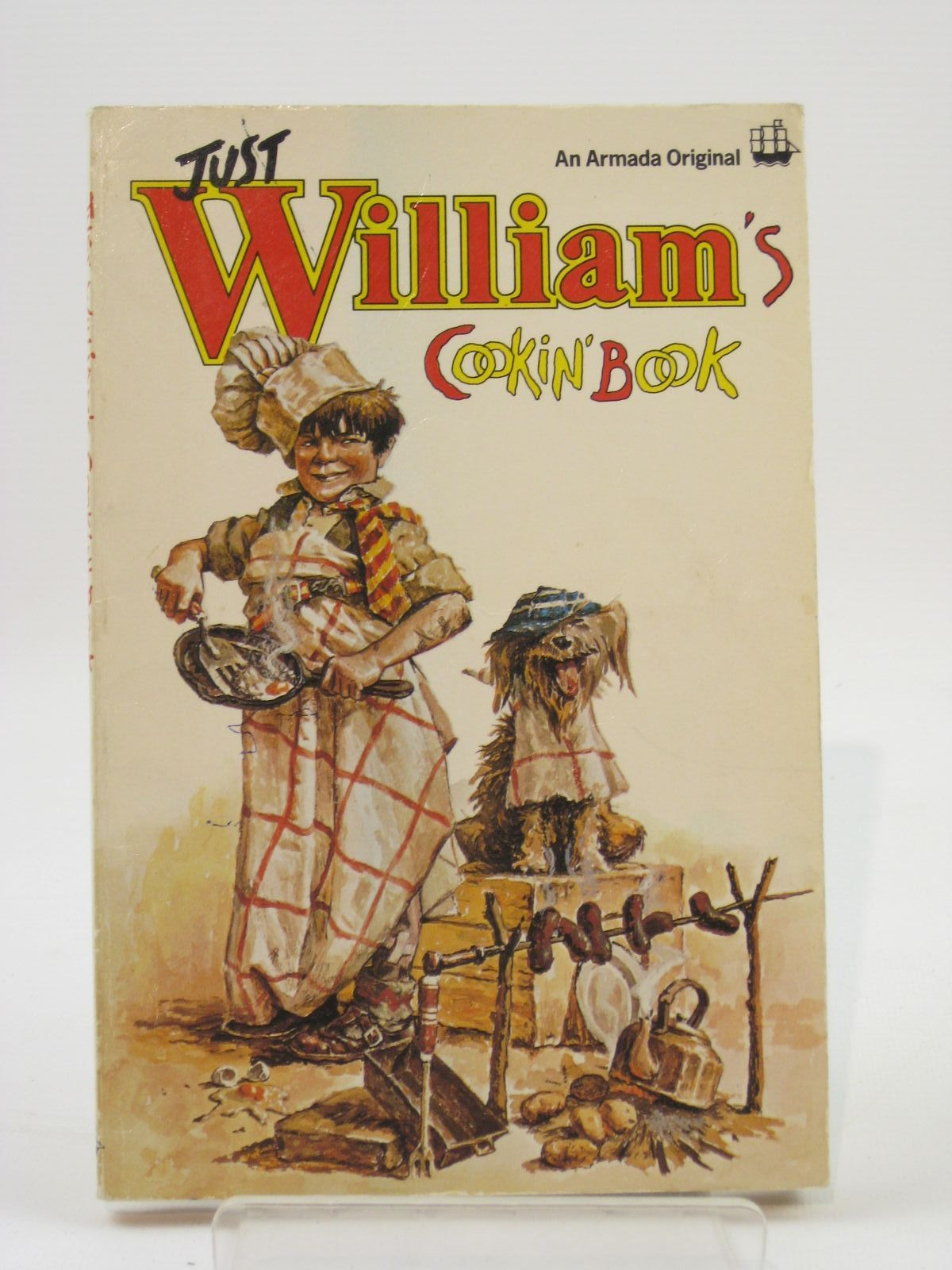 Photo of JUST WILLIAM'S COOKIN' BOOK- Stock Number: 1407132