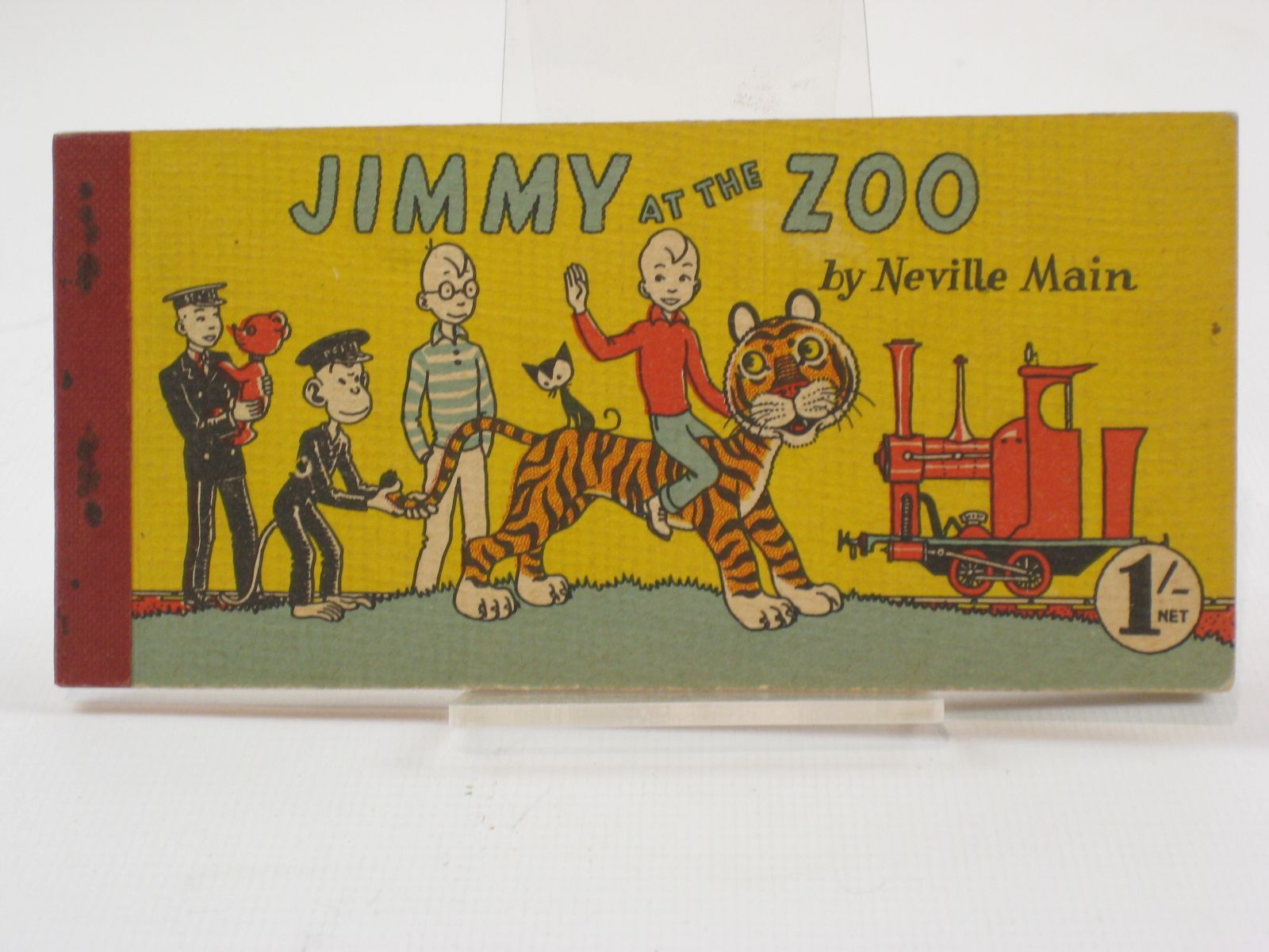 Photo of JIMMY AT THE ZOO written by Main, Neville published by Brockhampton Press Ltd. (STOCK CODE: 1407150)  for sale by Stella & Rose's Books