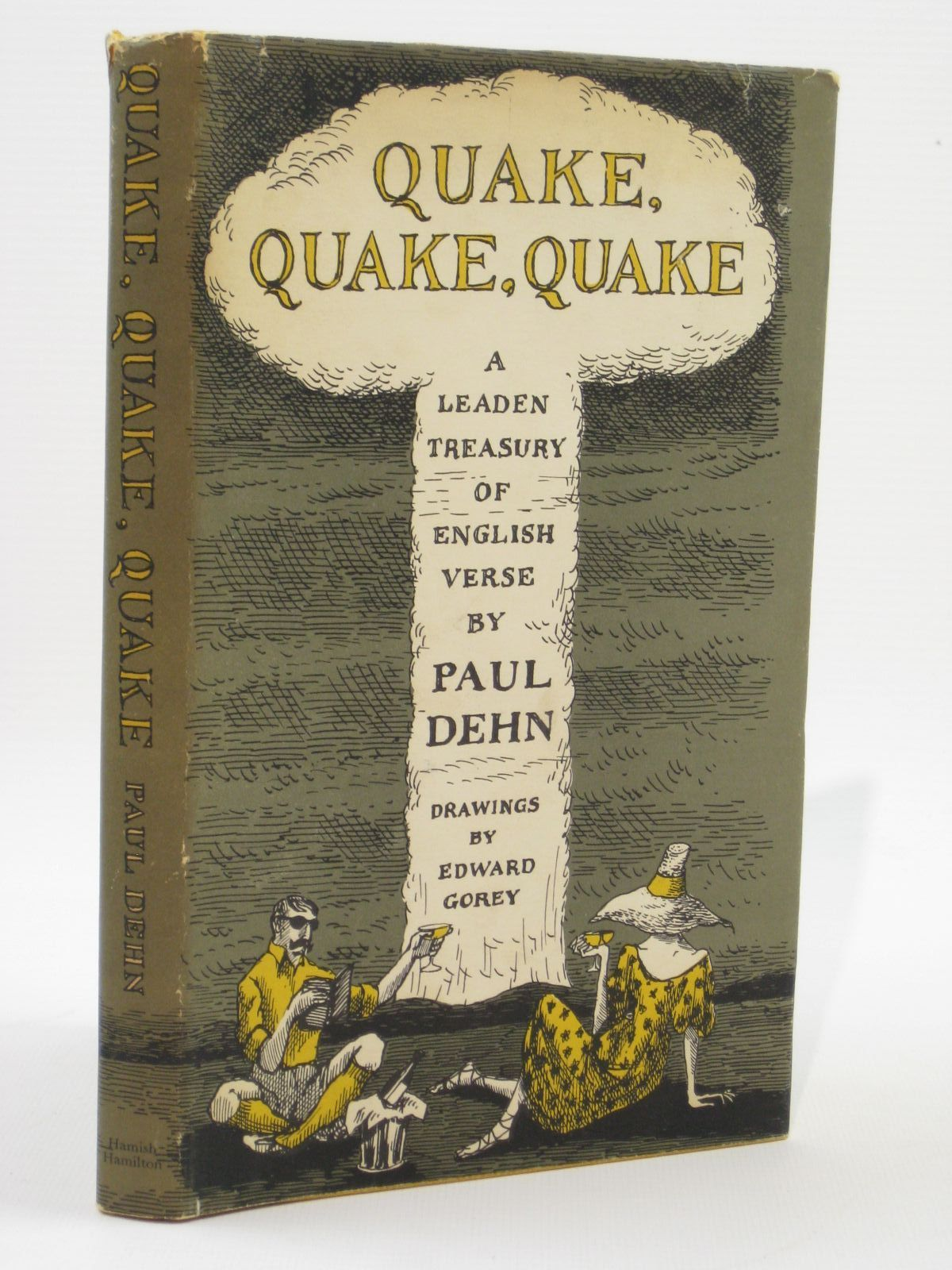 Photo of QUAKE, QUAKE, QUAKE written by Gorey, Edward<br />Dehn, Paul illustrated by Gorey, Edward published by Hamish Hamilton (STOCK CODE: 1407182)  for sale by Stella & Rose's Books