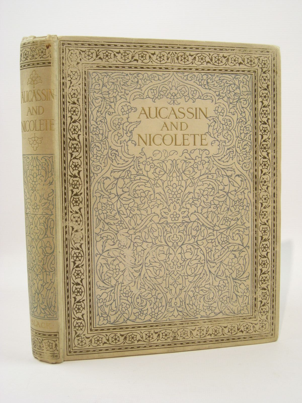 Photo of AUCASSIN AND NICOLETE written by Child, Harold illustrated by Anderson, Anne published by Adam & Charles Black (STOCK CODE: 1407186)  for sale by Stella & Rose's Books