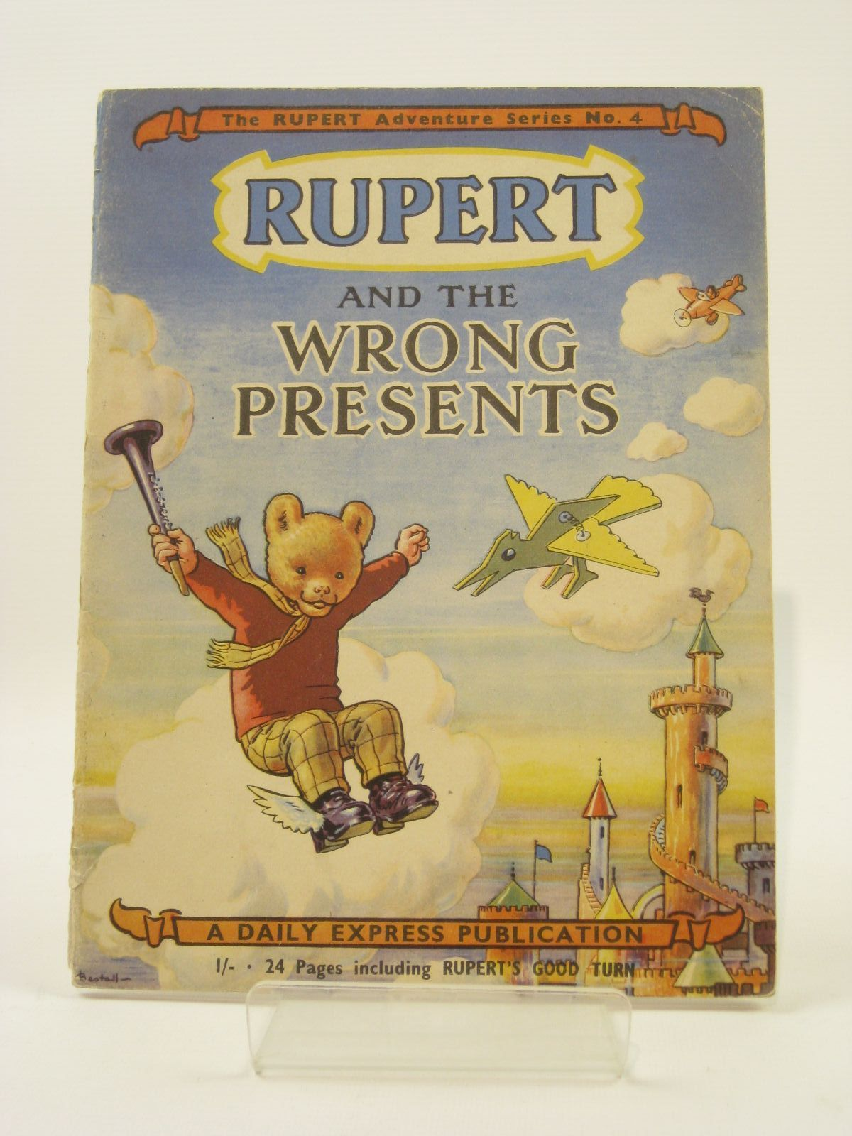 Photo of RUPERT ADVENTURE SERIES No. 4 - RUPERT AND THE WRONG PRESENTS written by Bestall, Alfred illustrated by Bestall, Alfred published by Daily Express (STOCK CODE: 1407195)  for sale by Stella & Rose's Books