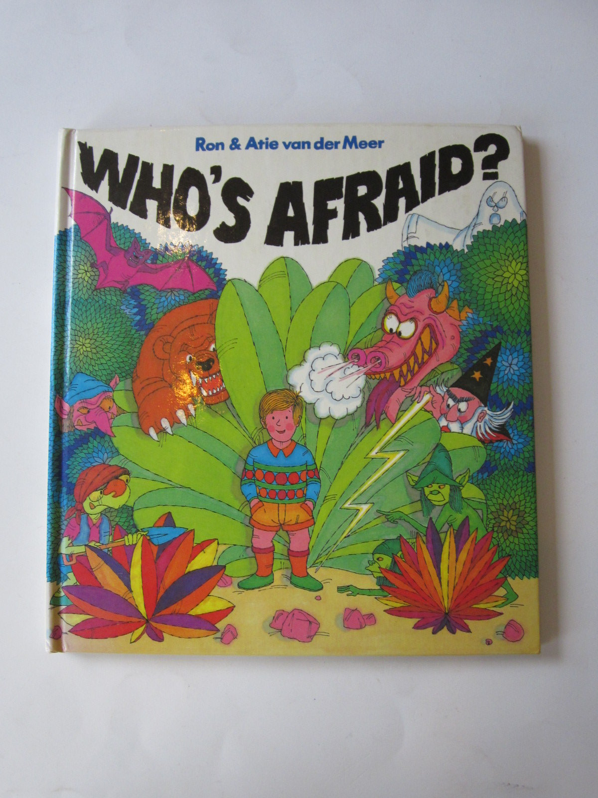 Photo of WHO'S AFRAID? written by Van Der Meer, Ron Van Der Meer, Atie published by Hamish Hamilton (STOCK CODE: 1501032)  for sale by Stella & Rose's Books