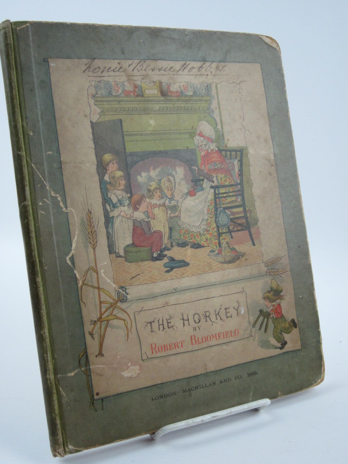Photo of THE HORKEY written by Bloomfield, Robert illustrated by Cruikshank, George published by MacMillan (STOCK CODE: 1501264)  for sale by Stella & Rose's Books