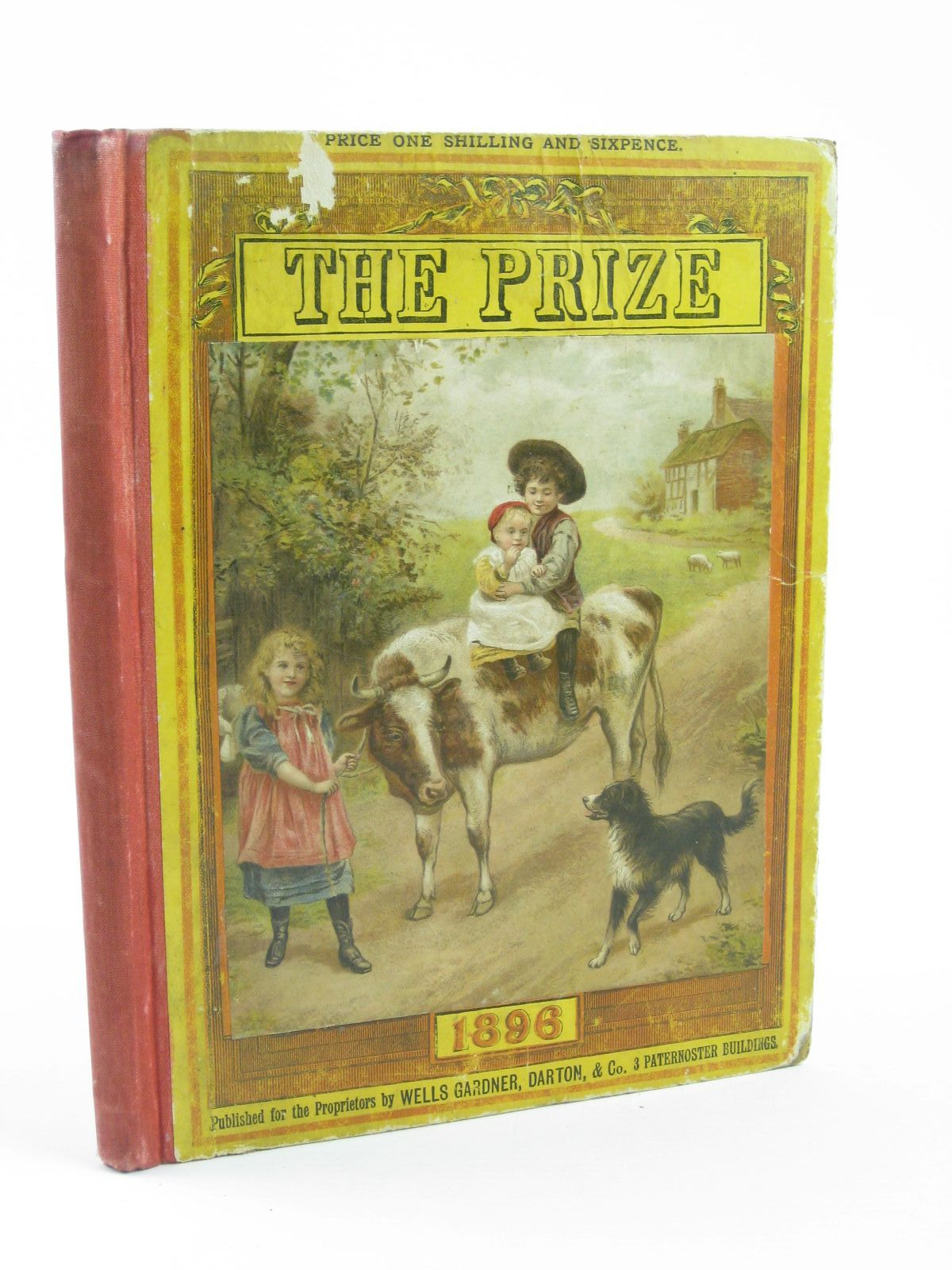Photo of THE PRIZE FOR GIRLS AND BOYS 1896 illustrated by Rhodes, H.J. et al.,  published by Wells Gardner, Darton & Co. (STOCK CODE: 1501395)  for sale by Stella & Rose's Books