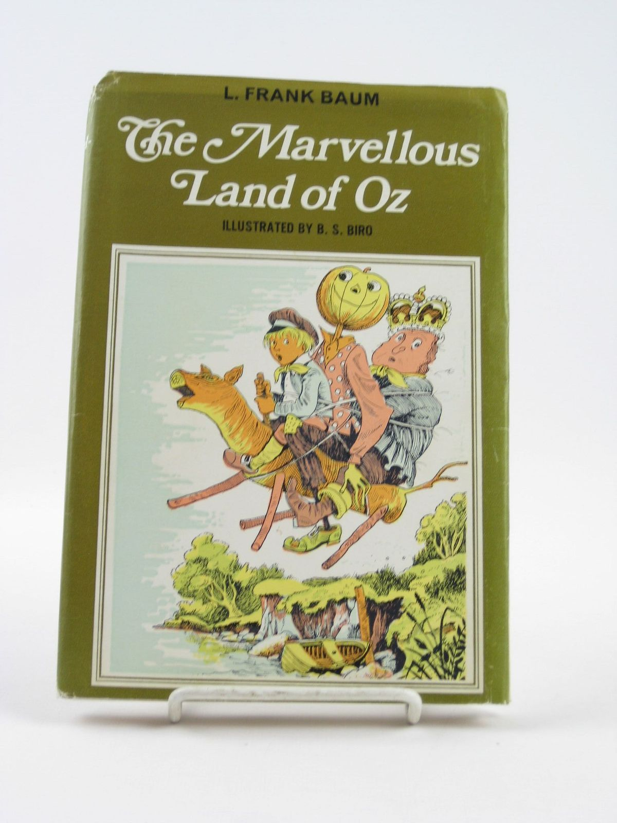 Photo of THE MARVELLOUS LAND OF OZ- Stock Number: 1501676