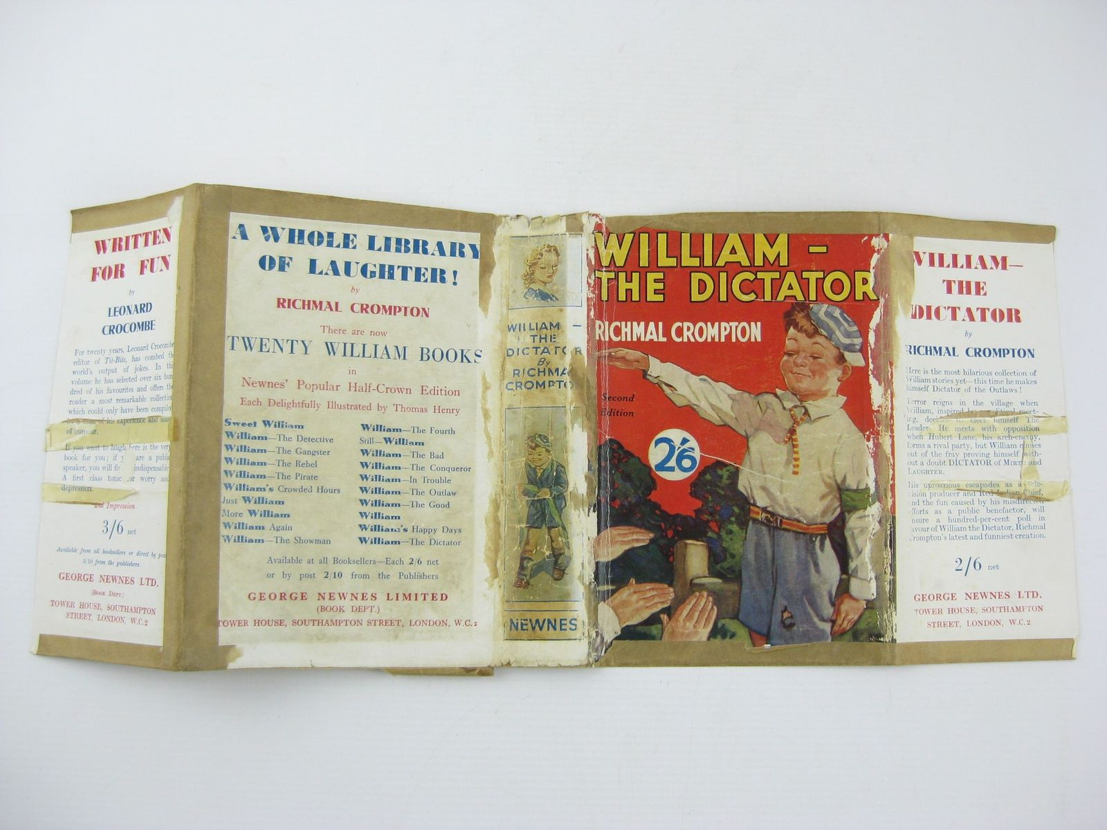 Photo of WILLIAM-THE DICTATOR written by Crompton, Richmal illustrated by Henry, Thomas published by George Newnes Ltd. (STOCK CODE: 1501683)  for sale by Stella & Rose's Books