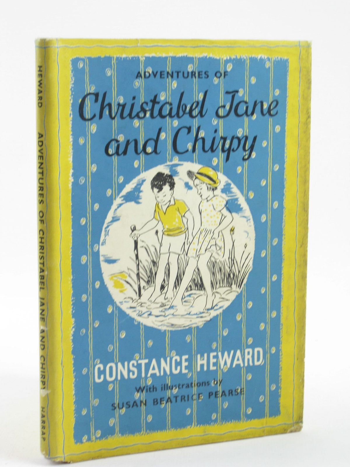 Photo of ADVENTURES OF CHRISTABEL JANE AND CHIRPY written by Heward, Constance illustrated by Pearse, S.B. published by George G. Harrap & Co. Ltd. (STOCK CODE: 1501708)  for sale by Stella & Rose's Books