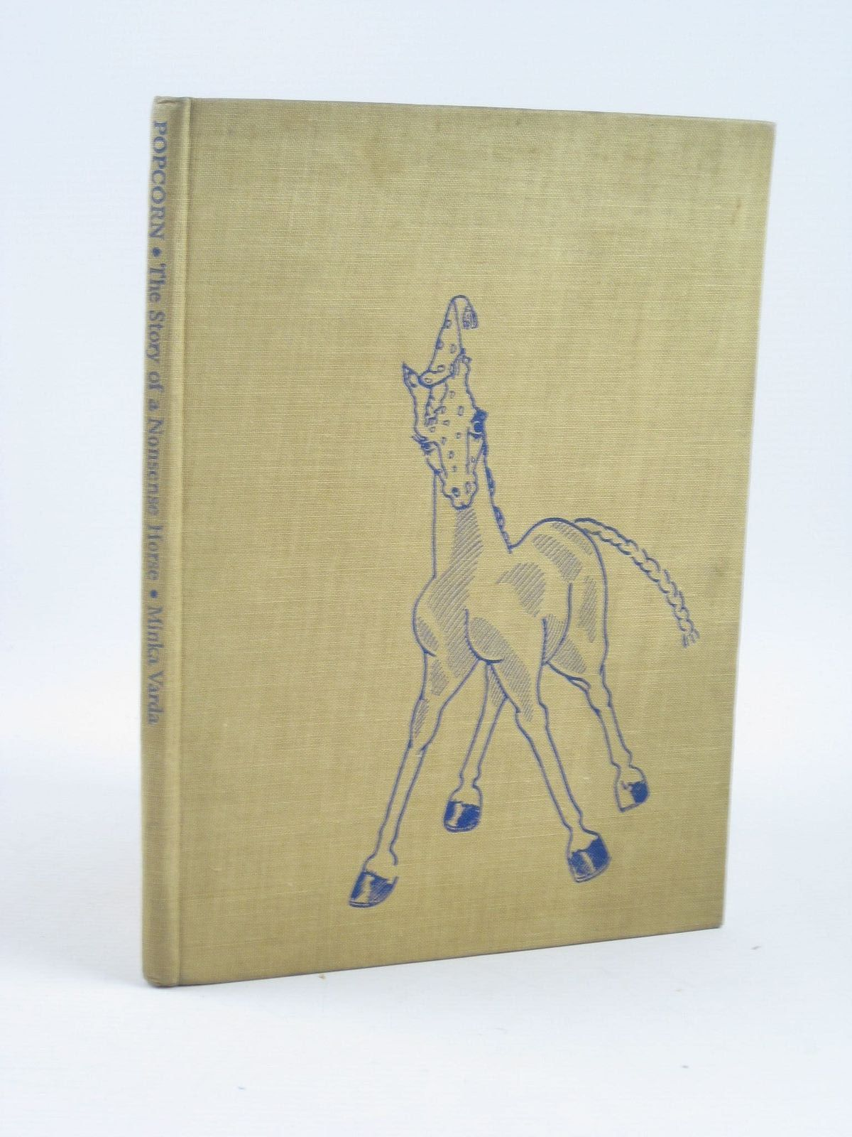 Photo of POPCORN - THE STORY OF A NONSENSE HORSE written by Varda, Minka published by Faber & Faber Limited (STOCK CODE: 1501855)  for sale by Stella & Rose's Books