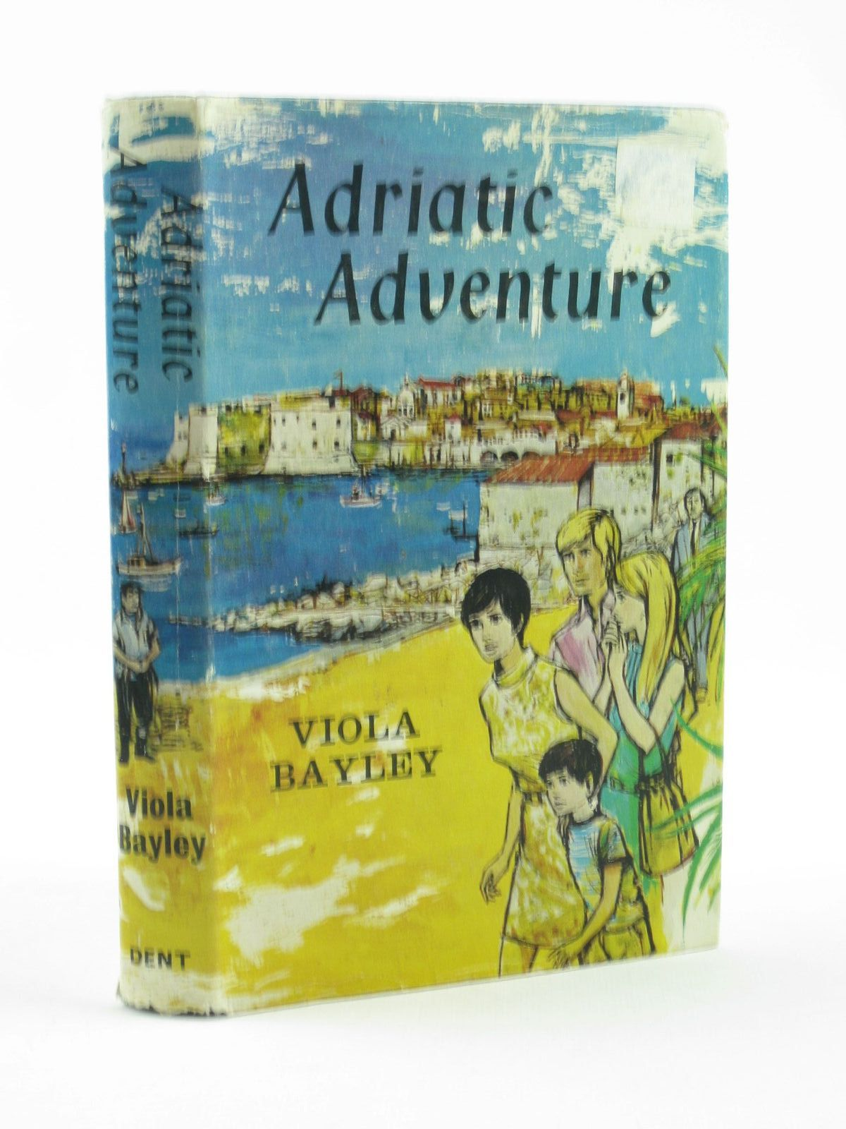 Photo of ADRIATIC ADVENTURE written by Bayley, Viola illustrated by Weatherbee, Margaret published by J.M. Dent & Sons Ltd. (STOCK CODE: 1502023)  for sale by Stella & Rose's Books