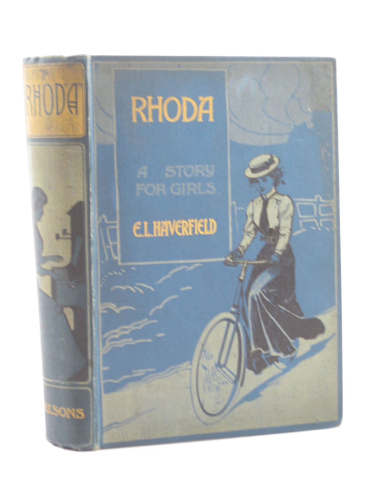 Photo of RHODA written by Haverfield, E.L. published by Thomas Nelson and Sons Ltd. (STOCK CODE: 1502035)  for sale by Stella & Rose's Books