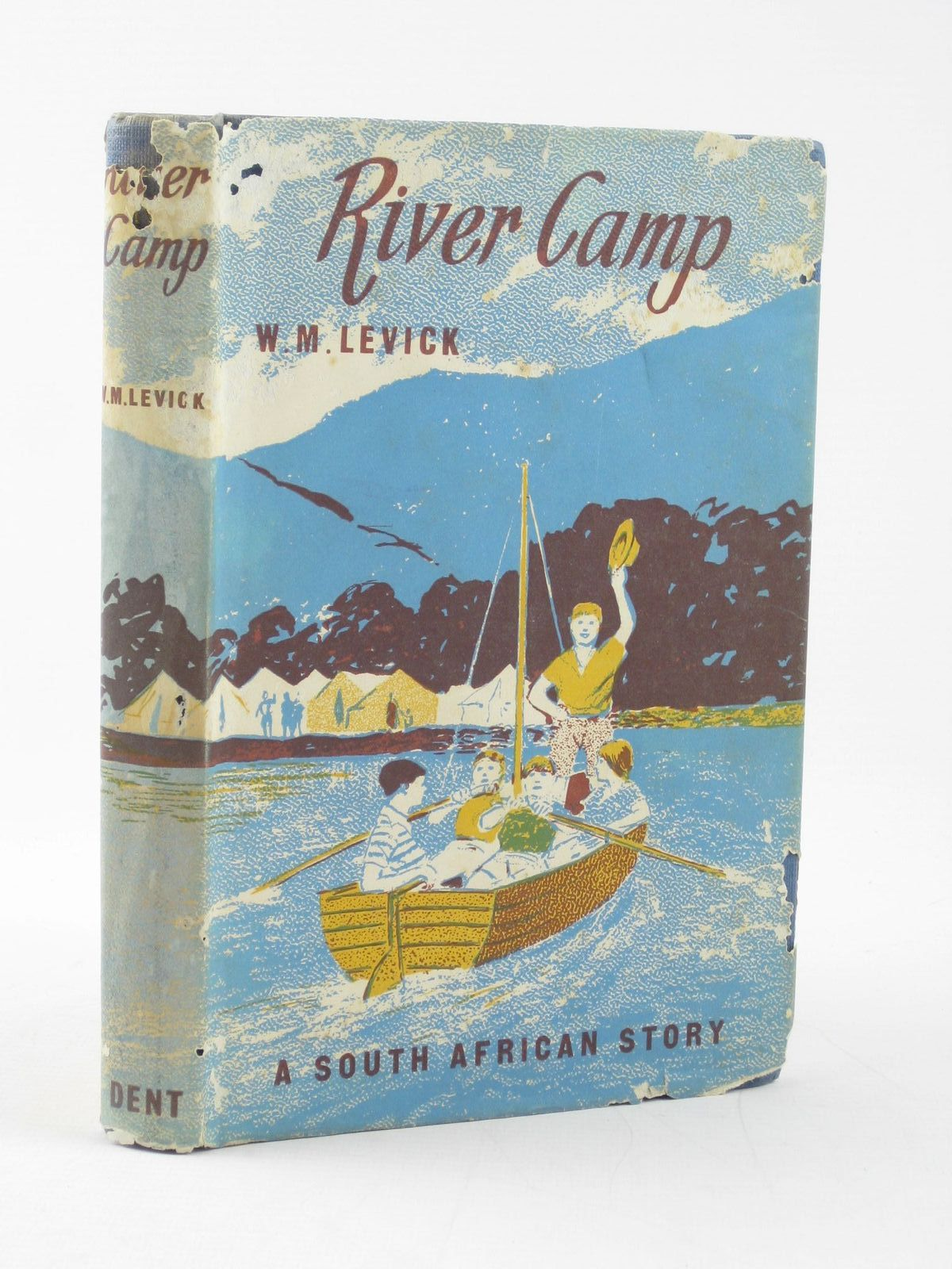 Photo of RIVER CAMP written by Levick, W.M. illustrated by Ross, Michael published by J.M. Dent & Sons Ltd. (STOCK CODE: 1502057)  for sale by Stella & Rose's Books