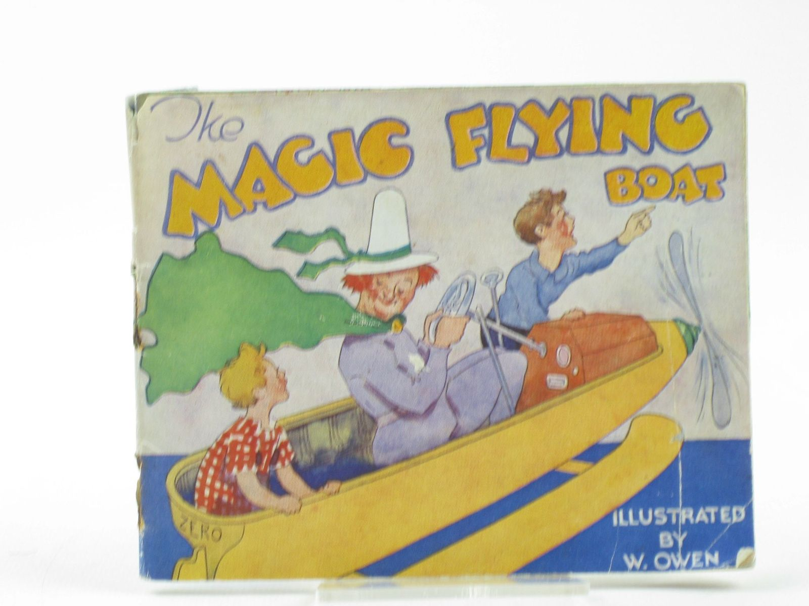 Photo of THE MAGIC FLYING BOAT illustrated by Owen, W. published by Valentine & Sons Ltd. (STOCK CODE: 1502075)  for sale by Stella & Rose's Books