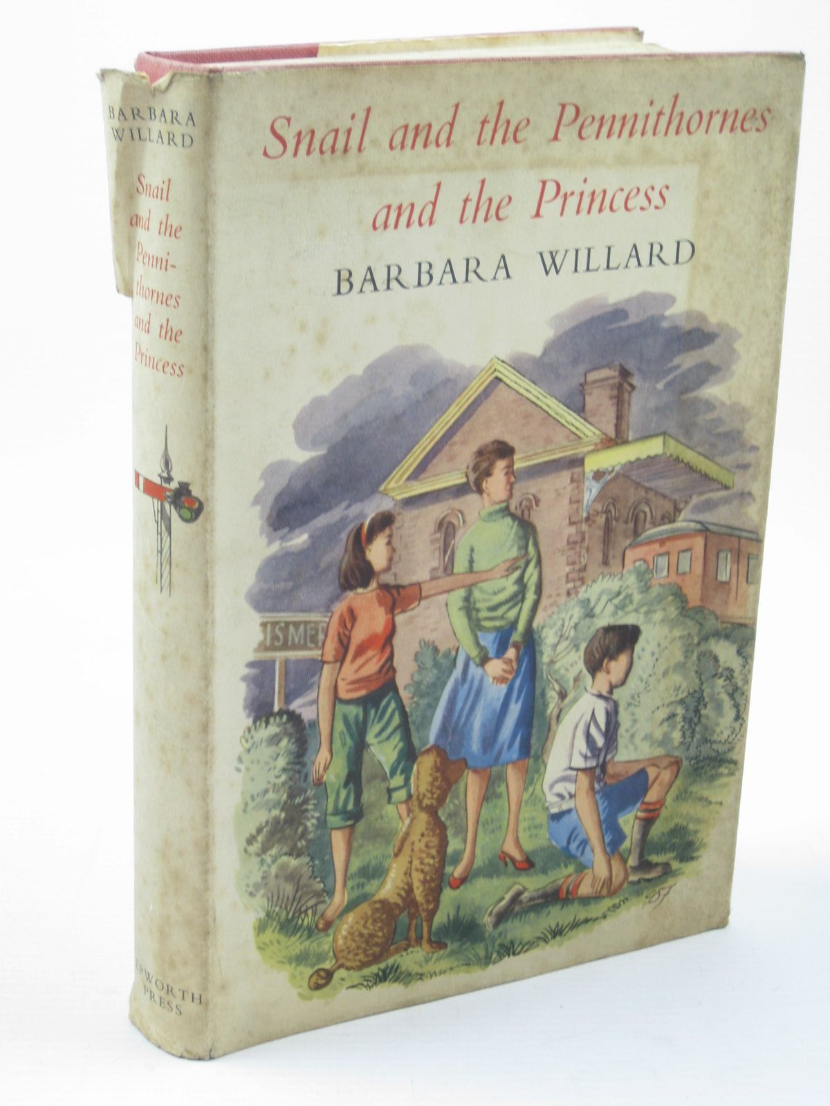 Photo of SNAIL AND THE PENNITHORNES AND THE PRINCESS written by Willard, Barbara illustrated by Fletcher, Geoffrey S. published by The Epworth Press (STOCK CODE: 1502292)  for sale by Stella & Rose's Books