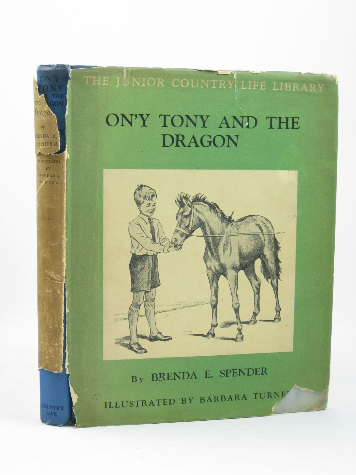 Photo of ON'Y TONY AND THE DRAGON written by Spender, Brenda E. illustrated by Turner, Barbara published by Country Life Limited (STOCK CODE: 1502426)  for sale by Stella & Rose's Books