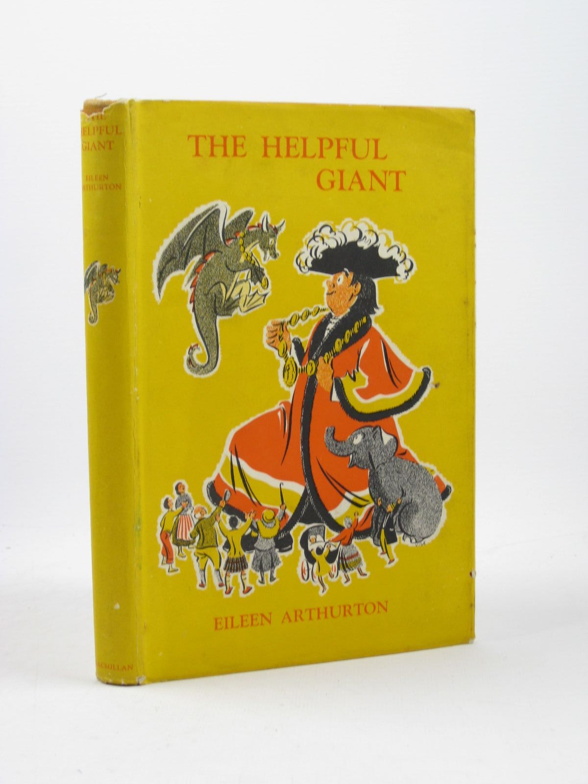 Photo of THE HELPFUL GIANT written by Arthurton, Eileen illustrated by Vise, Jennetta published by Macmillan & Co. Ltd. (STOCK CODE: 1502500)  for sale by Stella & Rose's Books