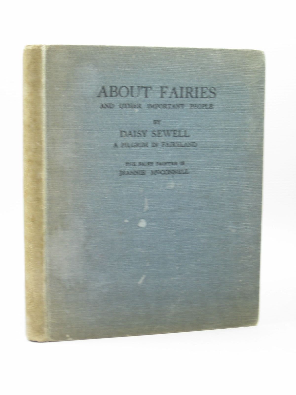 Photo of ABOUT FAIRIES AND OTHER IMPORTANT PEOPLE written by Sewell, Daisy illustrated by McConnell, Jeannie published by H.R. Allenson (STOCK CODE: 1502917)  for sale by Stella & Rose's Books