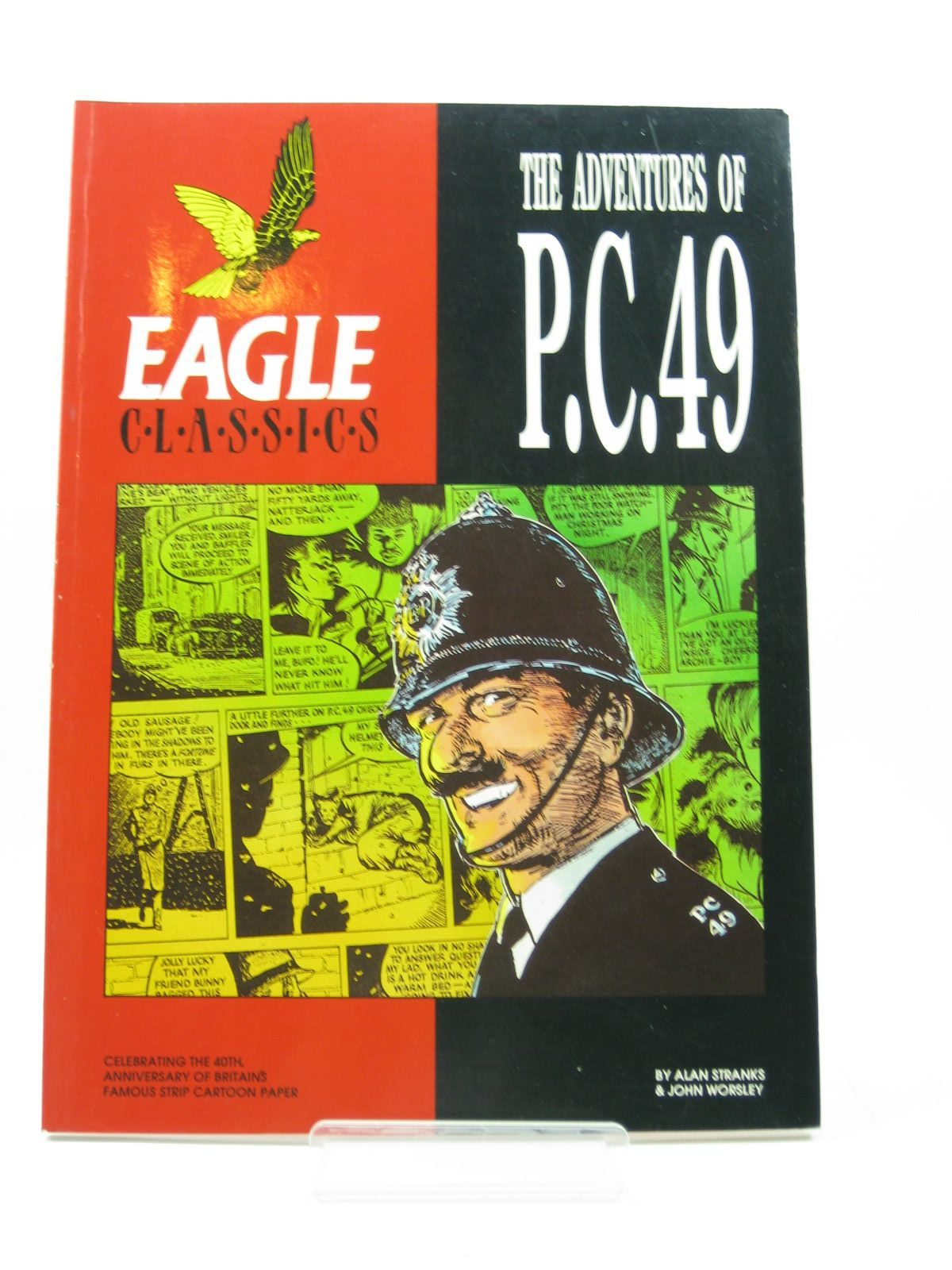 Photo of THE ADVENTURES OF P.C. 49 - EAGLE CLASSICS written by Stranks, Alan Worsley, John published by Hawk Books (STOCK CODE: 1503039)  for sale by Stella & Rose's Books