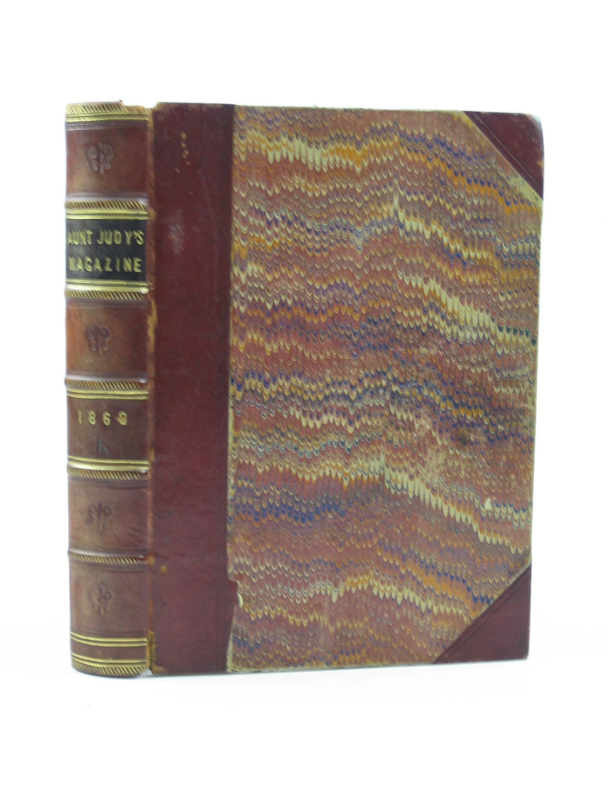 Photo of AUNT JUDY'S MAY-DAY VOLUME FOR YOUNG PEOPLE written by Aunt Judy, Gatty, Mrs. illustrated by Gilbert, F. Cooper, A.W. Newcombe, R. published by Bell and Daldy (STOCK CODE: 1503072)  for sale by Stella & Rose's Books