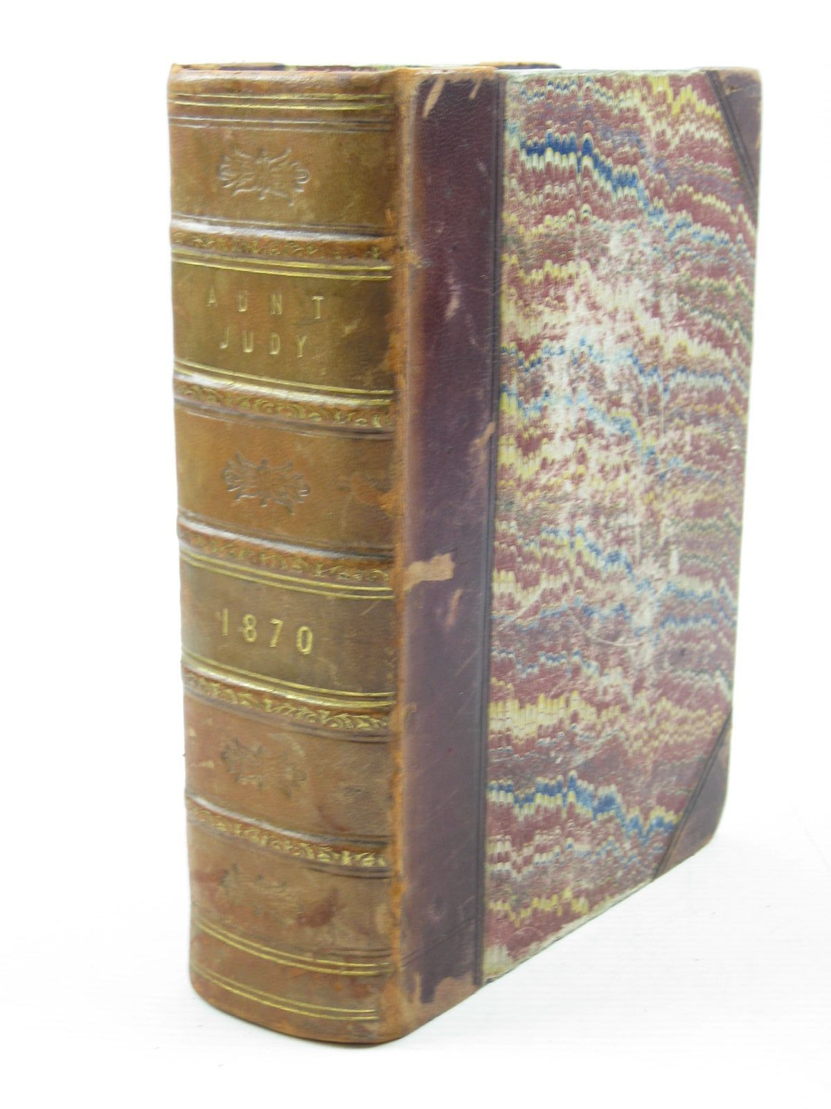 Photo of AUNT JUDY'S CHRISTMAS VOLUME FOR 1870 written by Gatty, Mrs. Alfred illustrated by Cruikshank, George<br />Keyl, F.W.<br />Bayes, A.W.<br />Gilbert, F.<br />Cooper, A.W.<br />Paterson, H.<br />et al., published by Bell and Daldy (STOCK CODE: 1503075)  for sale by Stella & Rose's Books