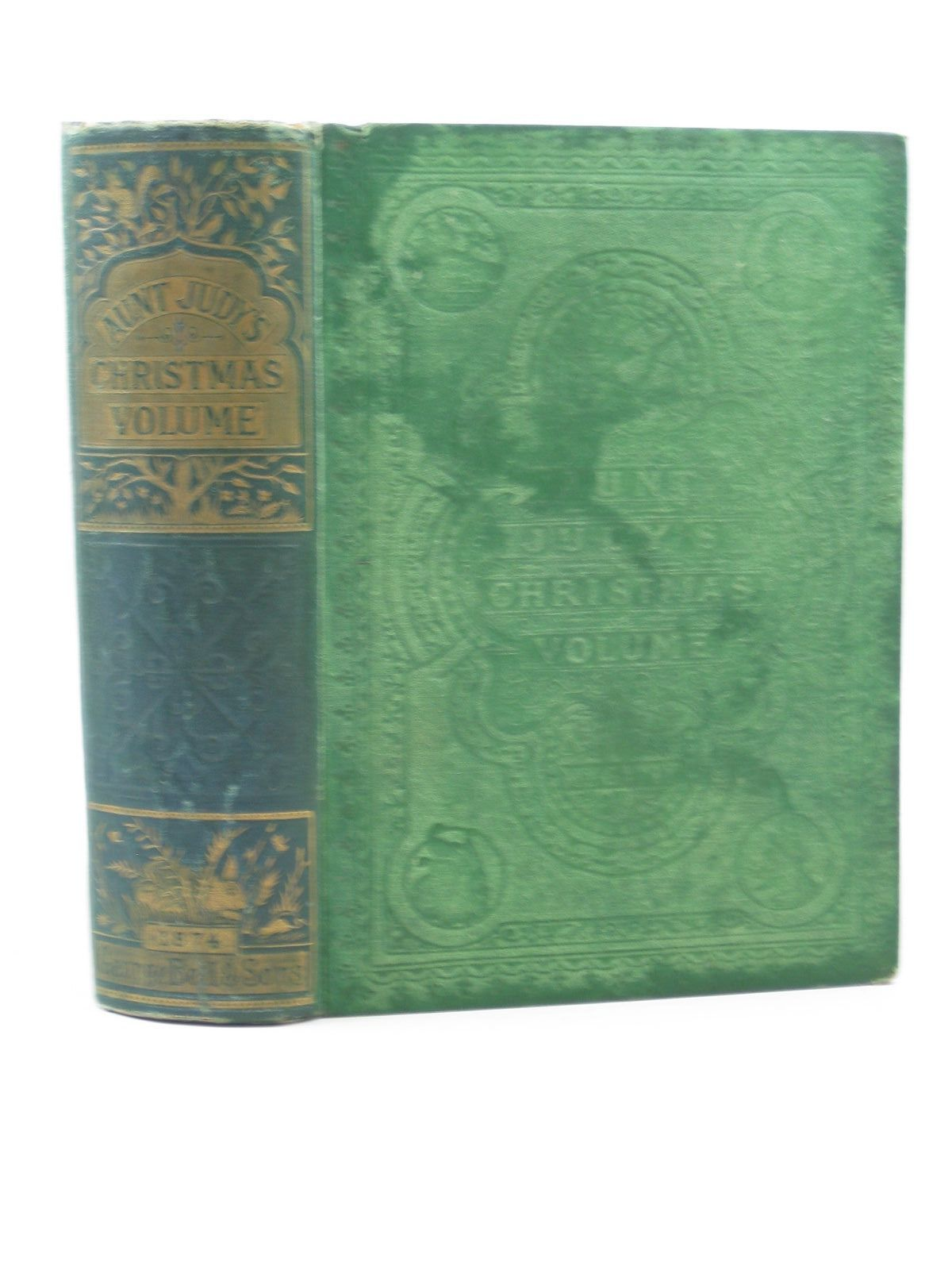 Photo of AUNT JUDY'S CHRISTMAS VOLUME FOR 1874 written by Gatty, H.K.F.<br />Ewing, Juliana Horatia illustrated by Petherick, W.H.<br />Paterson, H.<br />Temple, J.<br />et al., published by George Bell &amp; Sons (STOCK CODE: 1503091)  for sale by Stella & Rose's Books