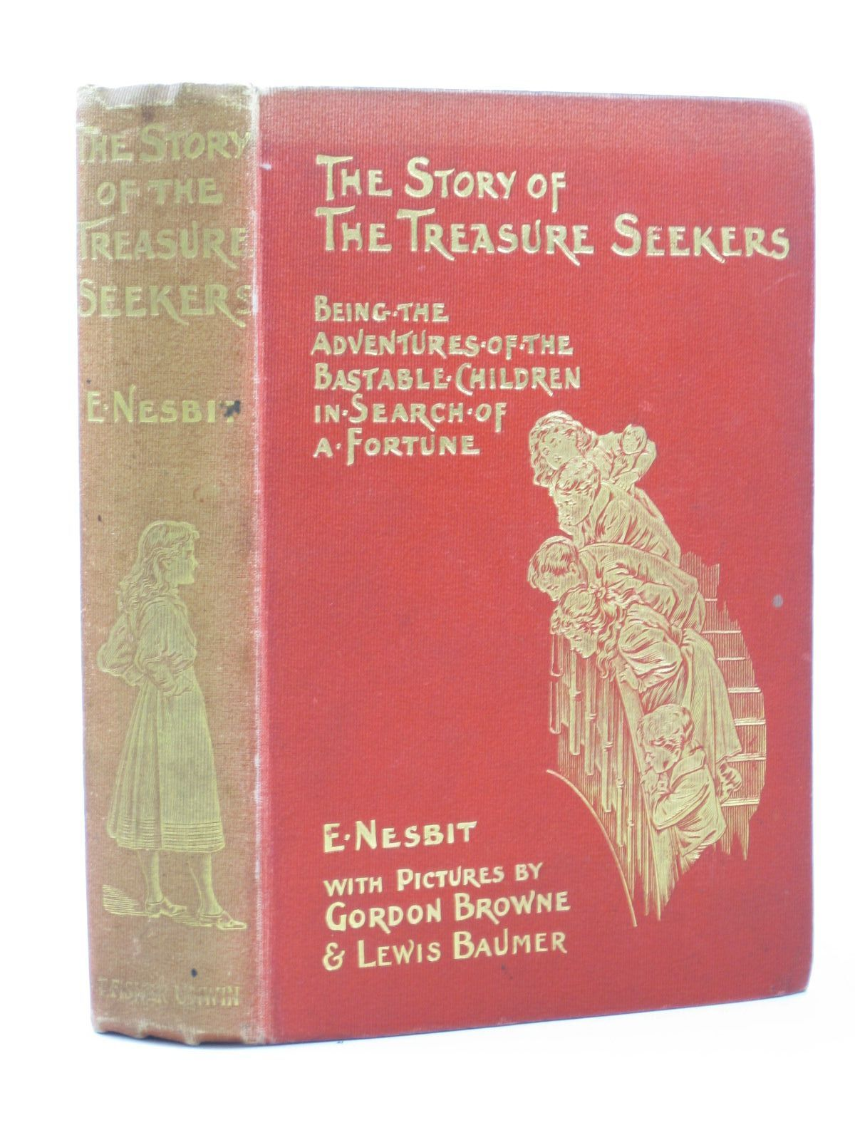 Photo of THE STORY OF THE TREASURE SEEKERS- Stock Number: 1503431