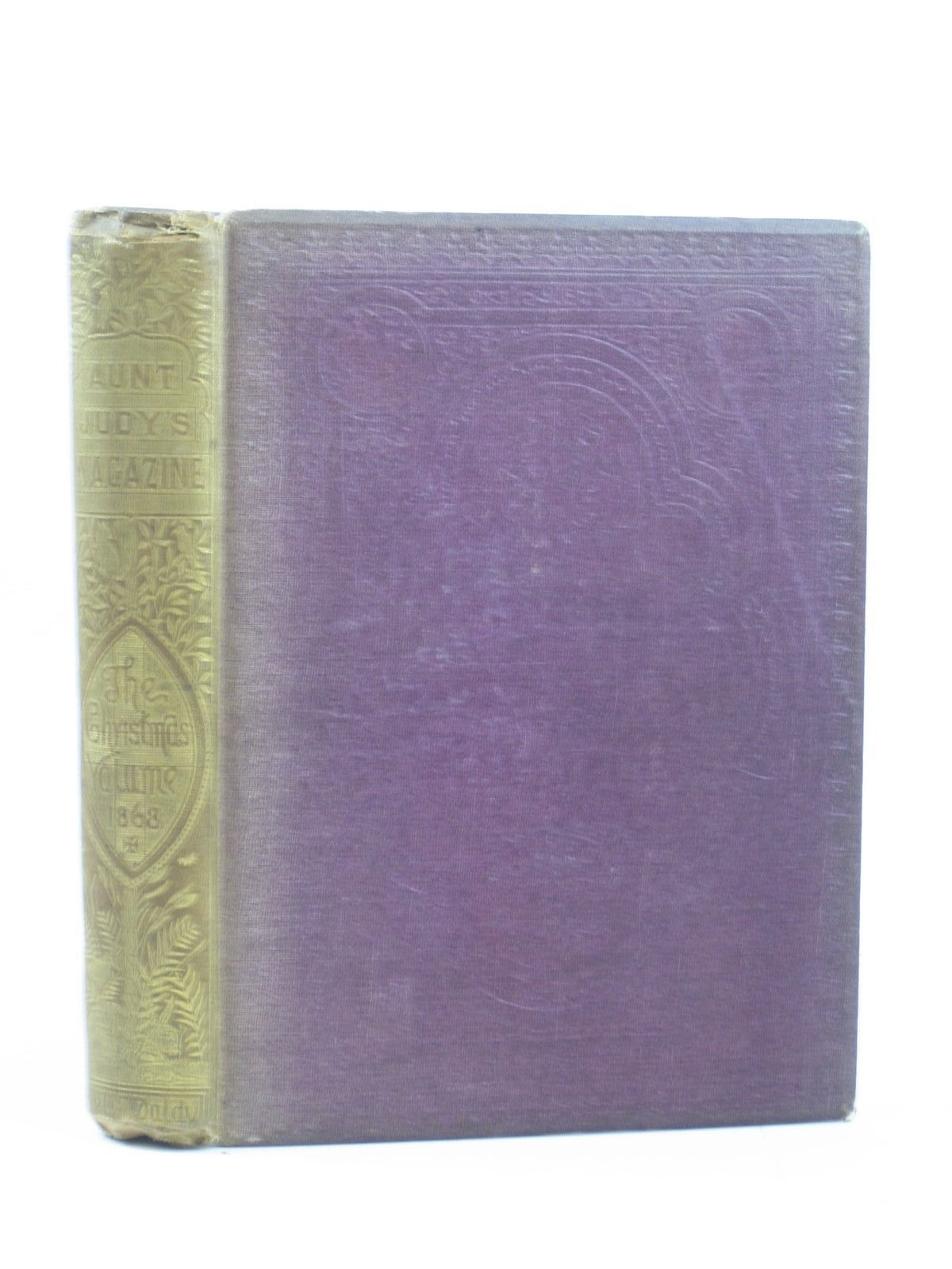 Photo of AUNT JUDY'S CHRISTMAS VOLUME FOR 1868 written by Gatty, Alfred<br />Clark, Mary Senior<br />Andersen, Hans Christian<br />Pan,<br />et al, illustrated by Wolf, J.<br />Pasquier, J.A.<br />Cooper, A.W.<br />Newcombe, R.<br />Hunt, A.A.<br />et al., published by Bell &amp; Daldy (STOCK CODE: 1503432)  for sale by Stella & Rose's Books