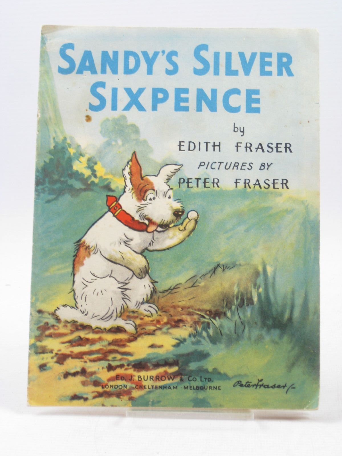 Photo of SANDY'S SILVER SIXPENCE- Stock Number: 1503491