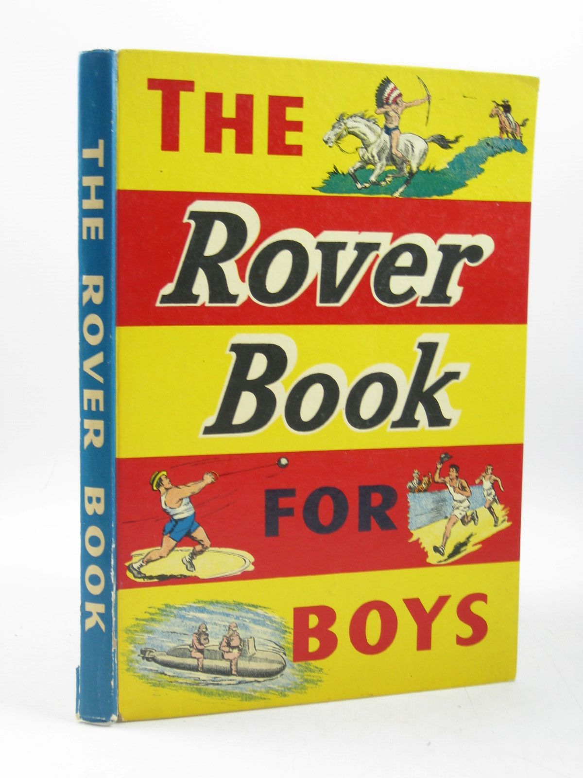 Photo of THE ROVER BOOK FOR BOYS 1958- Stock Number: 1503681