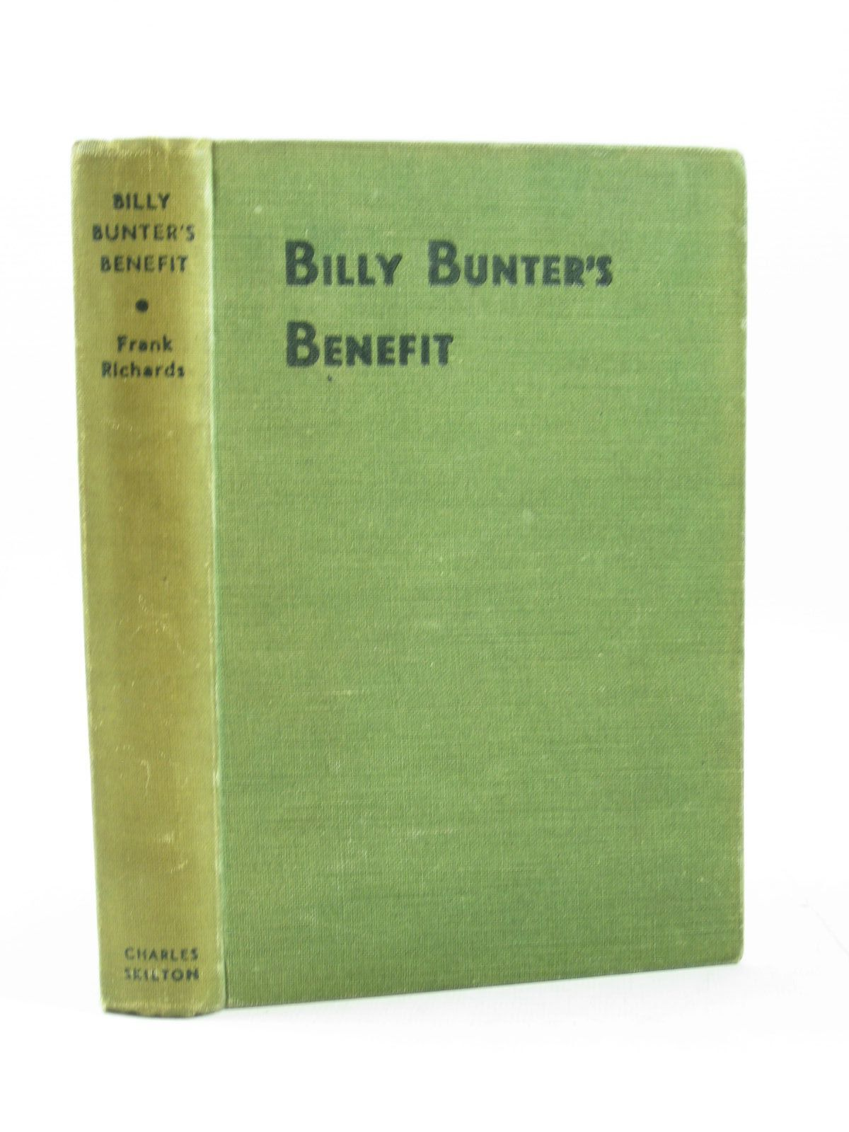 Photo of BILLY BUNTER'S BENEFIT written by Richards, Frank illustrated by Macdonald, R.J. published by Charles Skilton (STOCK CODE: 1503728)  for sale by Stella & Rose's Books