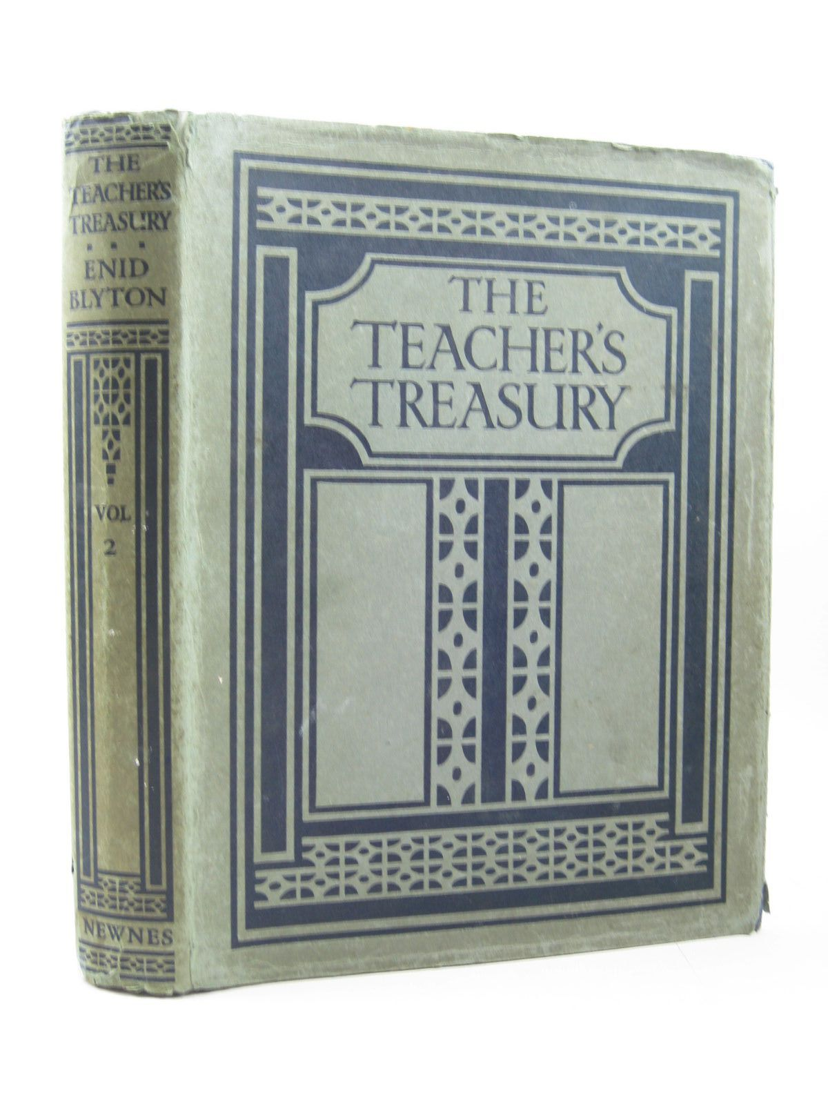 Photo of THE TEACHER'S TREASURY VOL 2. written by Blyton, Enid published by The Home Library Book Company, George Newnes Ltd. (STOCK CODE: 1503741)  for sale by Stella & Rose's Books