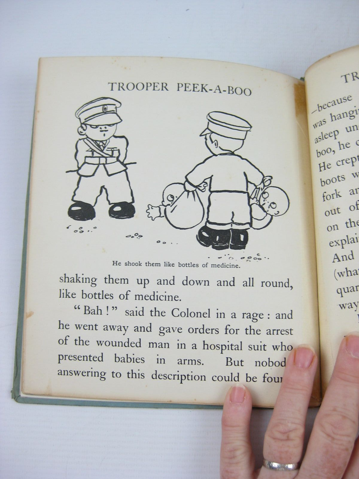 Photo of THE ADVENTURES OF TROOPER PEEK-A-BOO written by Byron, May illustrated by Preston, Chloe published by Henry Frowde, Hodder & Stoughton (STOCK CODE: 1503844)  for sale by Stella & Rose's Books